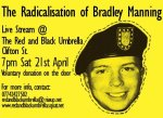 Radicalisation of Manning Live Stream