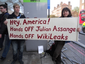Hey America! Hands OFF Julian Assange!