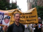 peter tatchell at NY gay pride