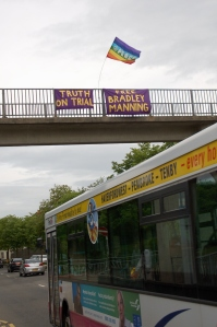 17 banners over A40 24 jun