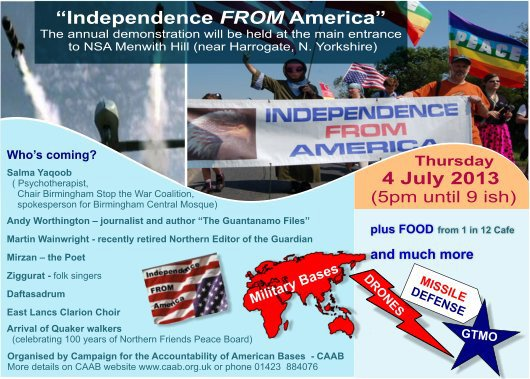 independence from america 2013