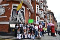 JULIAN Ecuador Embassy 22nd June free assange