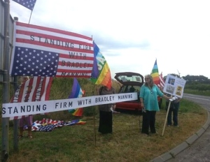 Standing firm with Bradley Manning 27 July 2013 b