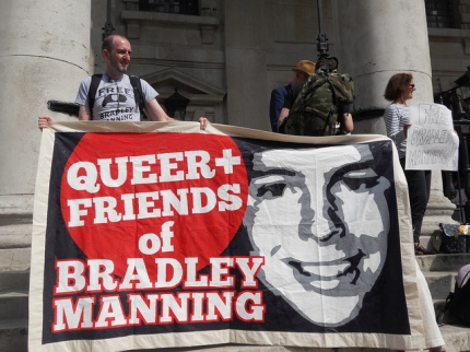 BRAD QUEER FRIENDS banner St M in the F 9382588441_dfa2f63d85_z