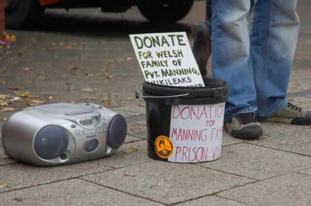 16 donations bucket
