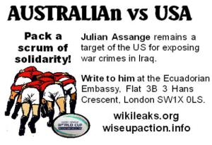 flyer front australian vs usa