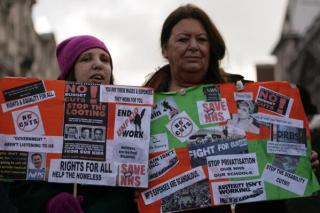 March march anti cuts