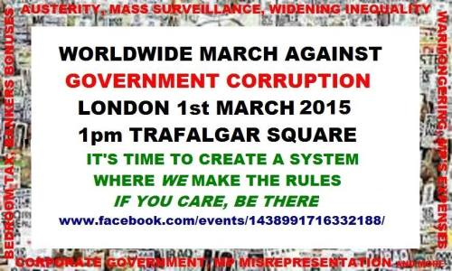 WW March against Corruption FB banner