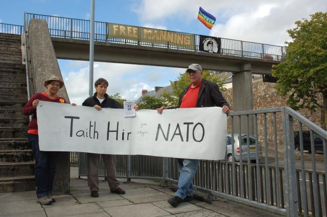 haverfordwest says no nato 2